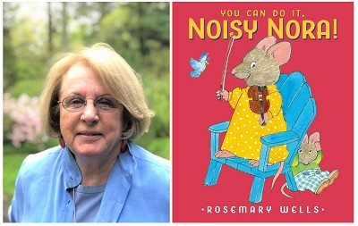 test Twitter Media - It's Virtual Book Tour Day with Rosemary Wells! The beloved author/illustrator gives us a behind the book look into her newest picture book, You Can Do It Noisy Nora! Visit our blog for an author recording, activities and much more. https://t.co/7hLDGwR7TL https://t.co/qVl2dlGR1F