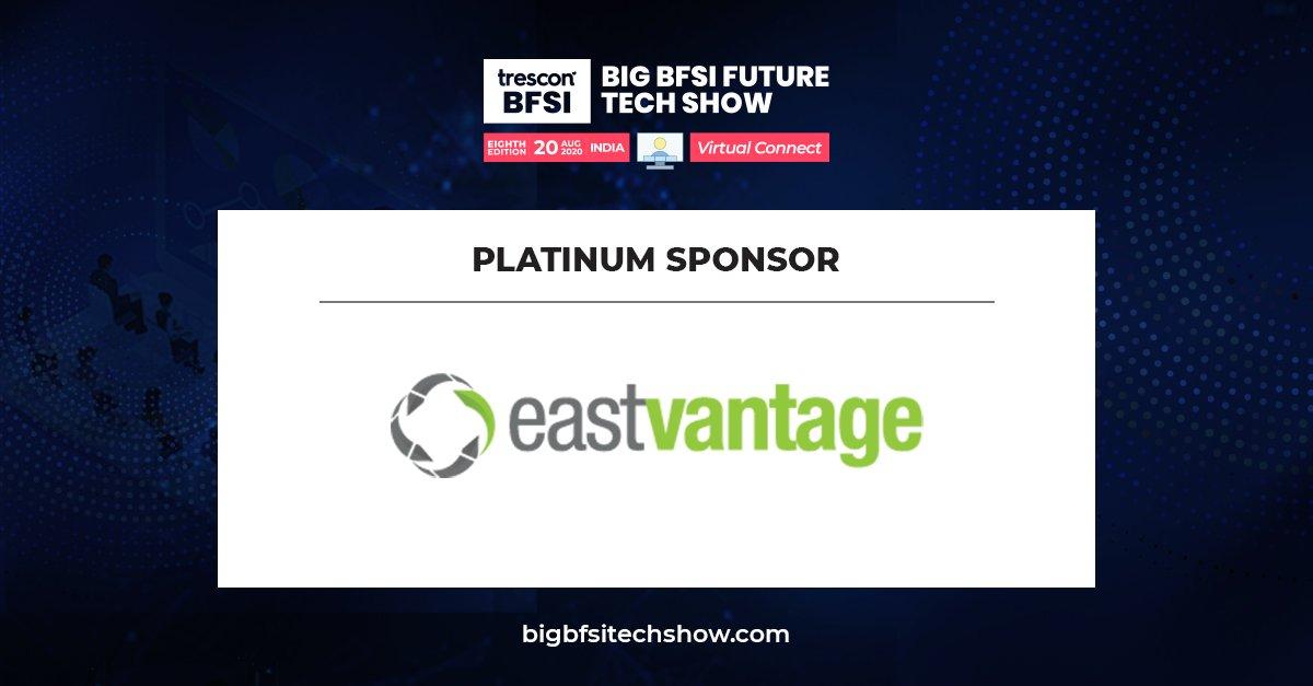 Introducing @eastvantage as the Platinum Sponsor for Big #BFSIFutureTechShow!  Attend for free:  https://hubs.ly/H0tgwNX0  #BFSI #NBFC #techleaders #virtual #futuretechnologies #DigitalTransformation #BusinessContinuity #RemoteWork  #thoughtleadership #BFSIFutureTechShowpic.twitter.com/XsuRMyZMz2