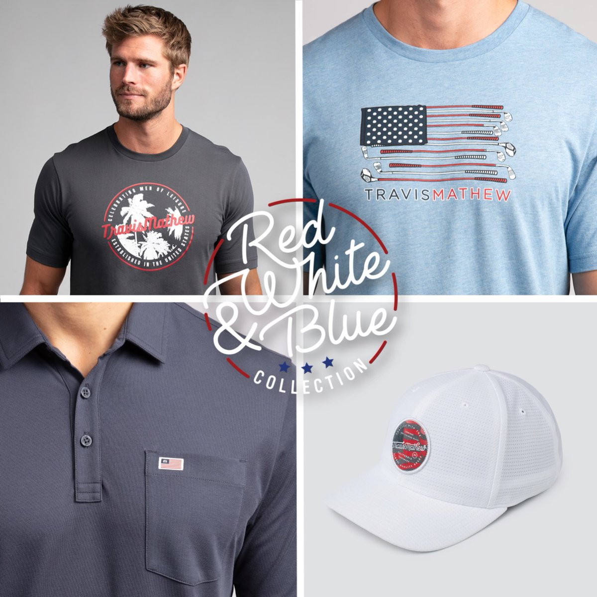 COMPETITION TIME MAJOR golf is back! To celebrate @pgachampionship week, we're giving you the chance to win a selection of our #RedWhiteAndBlue Collection.   Simply RT & FOLLOW your chance to win.  #travismathew #workandplay pic.twitter.com/j2EojggRLT