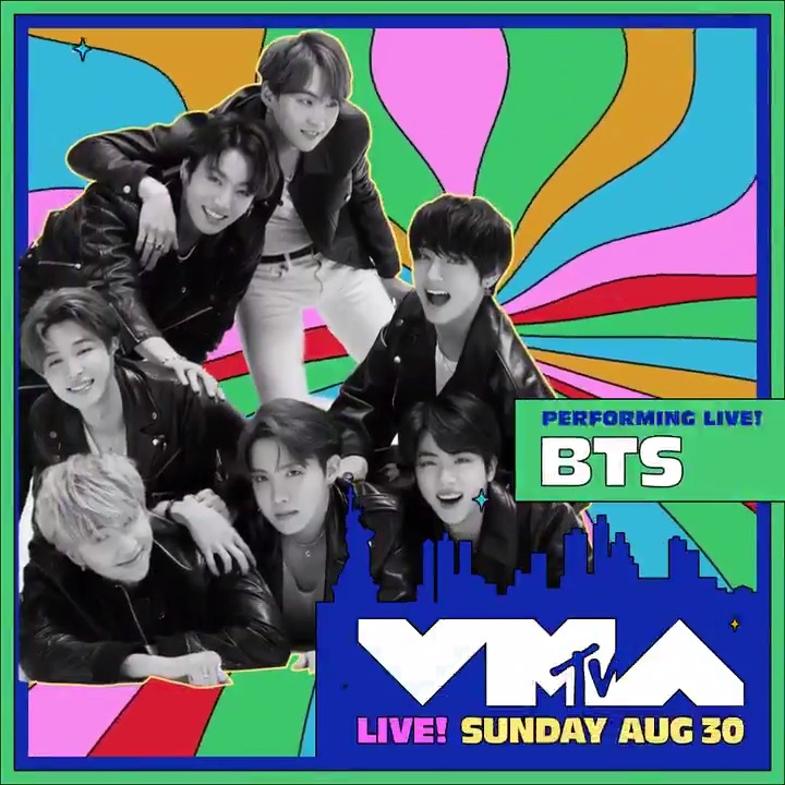 🚨IT'S REALLY HAPPENING🚨  @BTS_twt IS PERFORMING at the 2020 #VMAs for the FIRST. TIME. EVER! 🚀  DON'T 👏MISS 👏 THIS 👏 August 30 on @MTV ✨ @bts_bighit https://t.co/0pEF4oHdPM