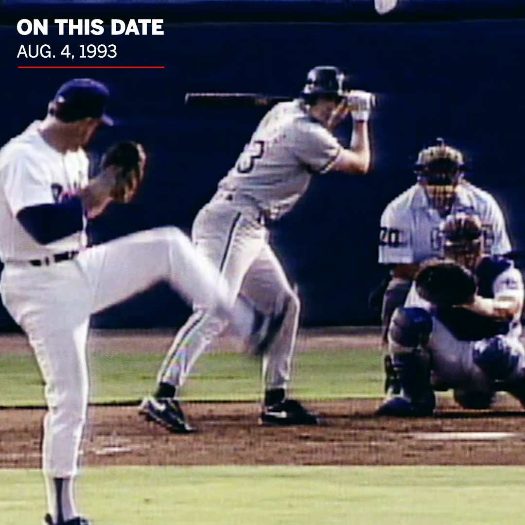 27 years ago today, 46-year-old Nolan Ryan got the better of Robin Ventura.