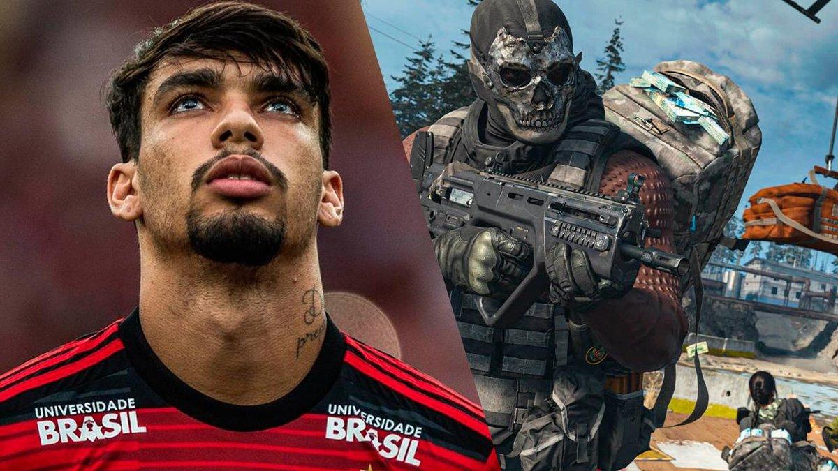 Lucas Paquetá, ex-ídolo do Flamengo, exibe habilidade em CoD: Warzone  https://mla.bs/dbfe13c1pic.twitter.com/iCUj3oGGBK
