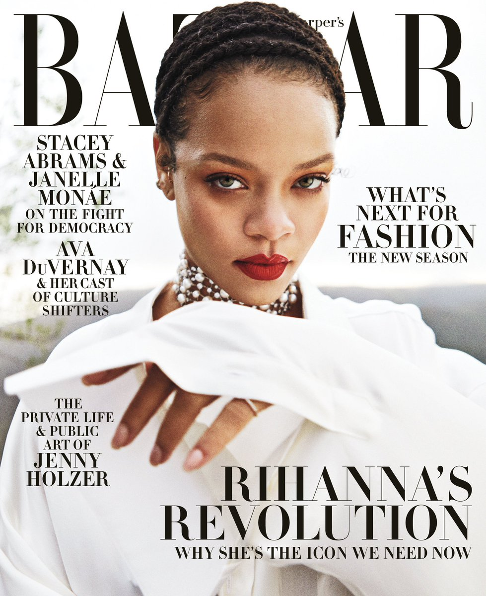 dress by @FentyOfficial ... skin by God! Thank you @harpersbazaarus for featuring @fentyskin in this special September 2020 issue!  http://ri-hanna.io/harpersbazaar pic.twitter.com/t77X8ToGYy