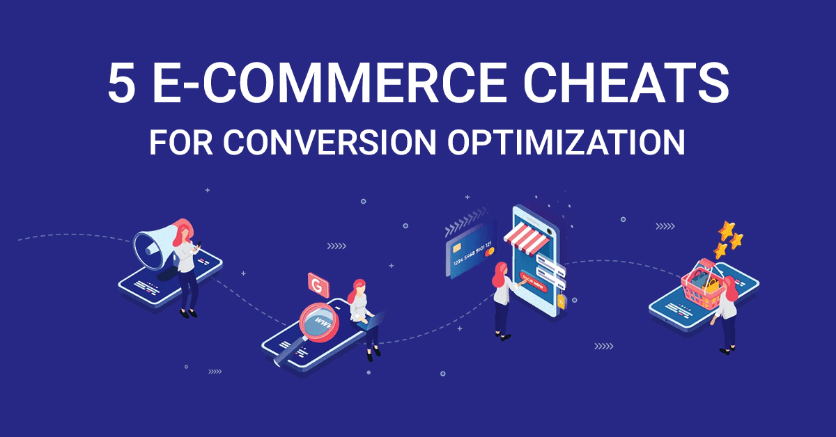 Here are the top 5 #eCommerce cheats that could help you score A+ over the conversion report card. https://bit.ly/2z9Nf0Y  #sales #leads #onlinebusiness #marketingtips #ecommerceconversions #cro #leadgeneration #onlinesales #business #businessonline #ecommercesalespic.twitter.com/xKI9zJEfLf
