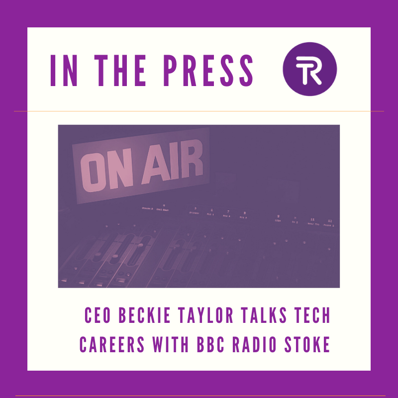#ListenAgain CEO @RTaylor81 talks #techcareers with @BBCRadioStoke looking at the spike in #tech roles, just what is available across the sector and even providing #live career advice for presenter Stuart George! - catch up  here http://ow.ly/xw8B50AILbW…pic.twitter.com/KZbgTw9nLg