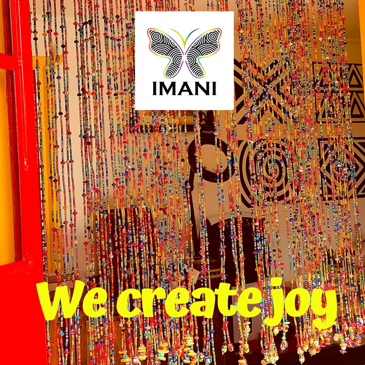 """like the rainbow after the rain joy will reveal itself after sorrow.."" Rupi Kaur  Bead curtain by Imani... DM for orders.  #jewelrydesigner #beadedcurtain #love #MadeinKenya #homeideas #twitterhappypic.twitter.com/qz1DQswQuD"