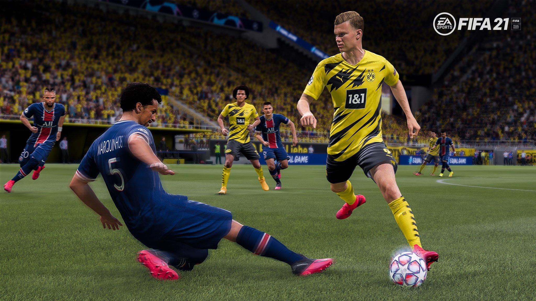 """EA FIFA France on Twitter: """"📜Plus de détails sur les  nouveautés/spécificités du nouveau Gameplay #FIFA21 via ce Pitch Note😉!  Toutes les infos ➡ https://t.co/E7T8FHiEFz… https://t.co/K2jO6icXQB"""""""