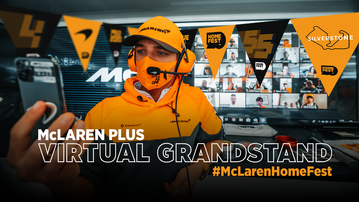 As part of our #McLarenHomeFest celebrations for this weekend's #F170 Grand Prix, we're giving 500 fans the chance to join us LIVE in our garage for a chat with @Carlossainz55 & @LandoNorris. 📺🗣️  Here's how you can get involved ➡️ https://t.co/ZVDJPUFGuk https://t.co/dMIkw9zgJM