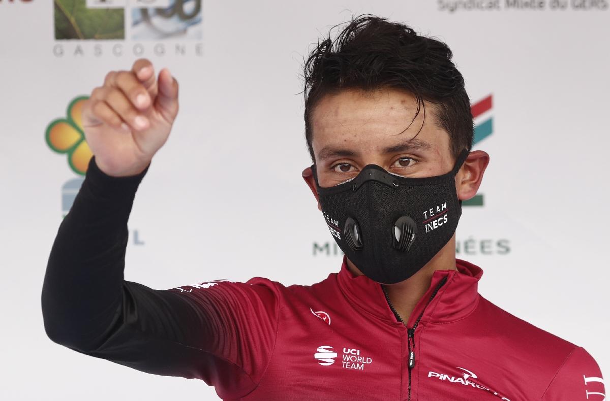 Egan Bernal remporte la Route d'Occitanie, le duel avec Pinot est lancé https://t.co/tPZKQYU3H7 #Cyclisme #Occitanie https://t.co/d9cixxY9vs