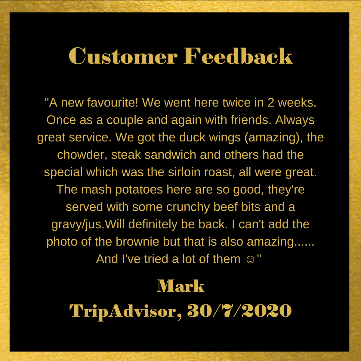 More incredible feedback here at Ribeye. Thank you to our customers and staff for being such legends! We love reading your reviews. https://www.ribeyesteakhouse.ie/ #tripadvisor #review #happycustomerpic.twitter.com/hVjoO9QiOW