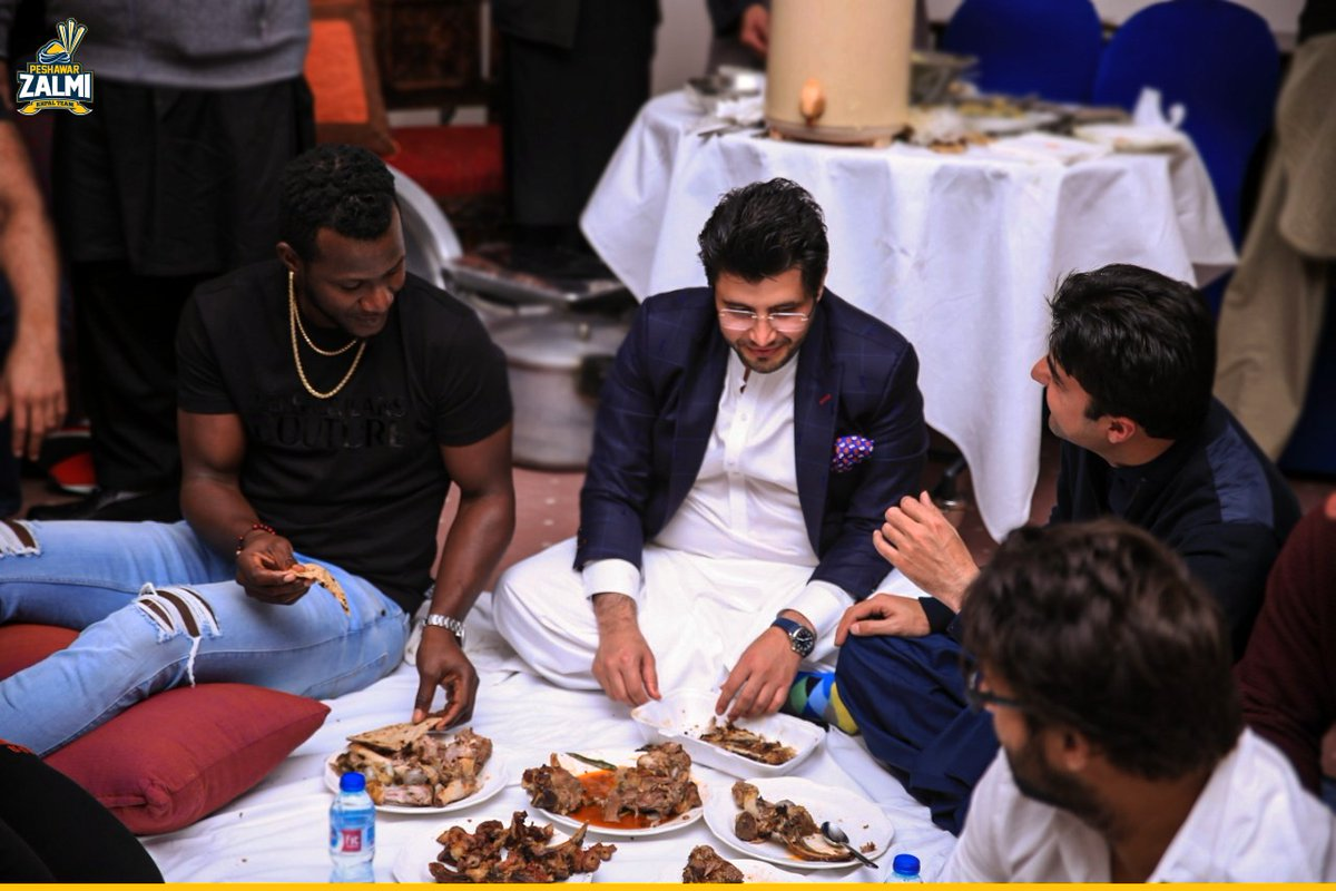 Favorite lamb dish? 😋 @darensammy88   What dishes did you guys eat during #EidAlAdha   Tell us 👇in the comments   #Zalmi #YellowStorm #ZalmiRewind #MGZalmiCamp https://t.co/qGd5bjcaxs