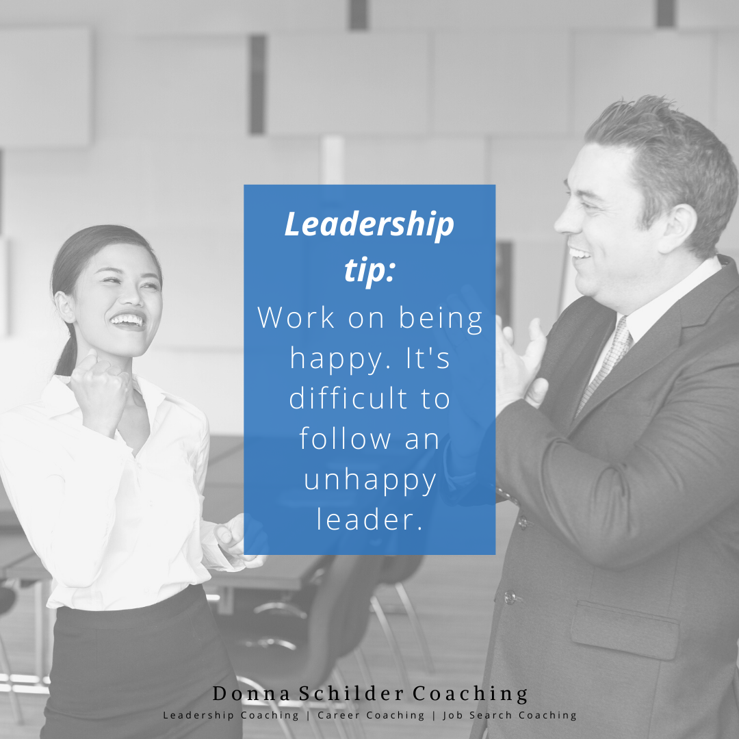 You may think that happiness isn't an important part of leadership, but it is. If you're happy, you'll have more energy and be more motivating to your staff. #leadershipcoaching #behappy #growthmindsetpic.twitter.com/dkWs0gcZDR