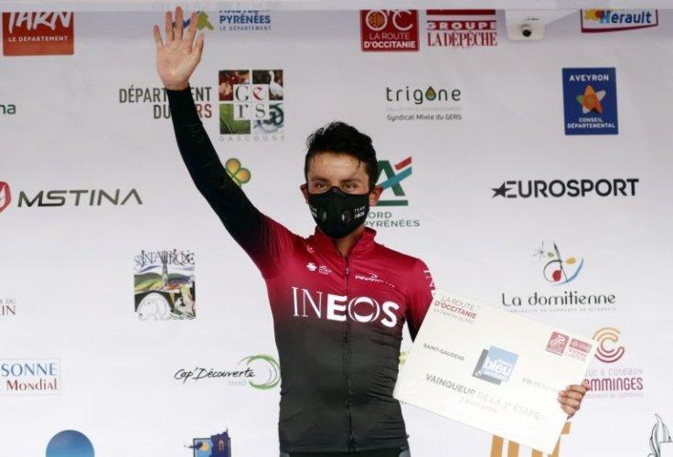 Ciclismo: Egan Bernal conquista Route d'Occitanie, última etapa para Cosnefroi https://t.co/wmMdjC0JOl https://t.co/QMJvgKHzRo