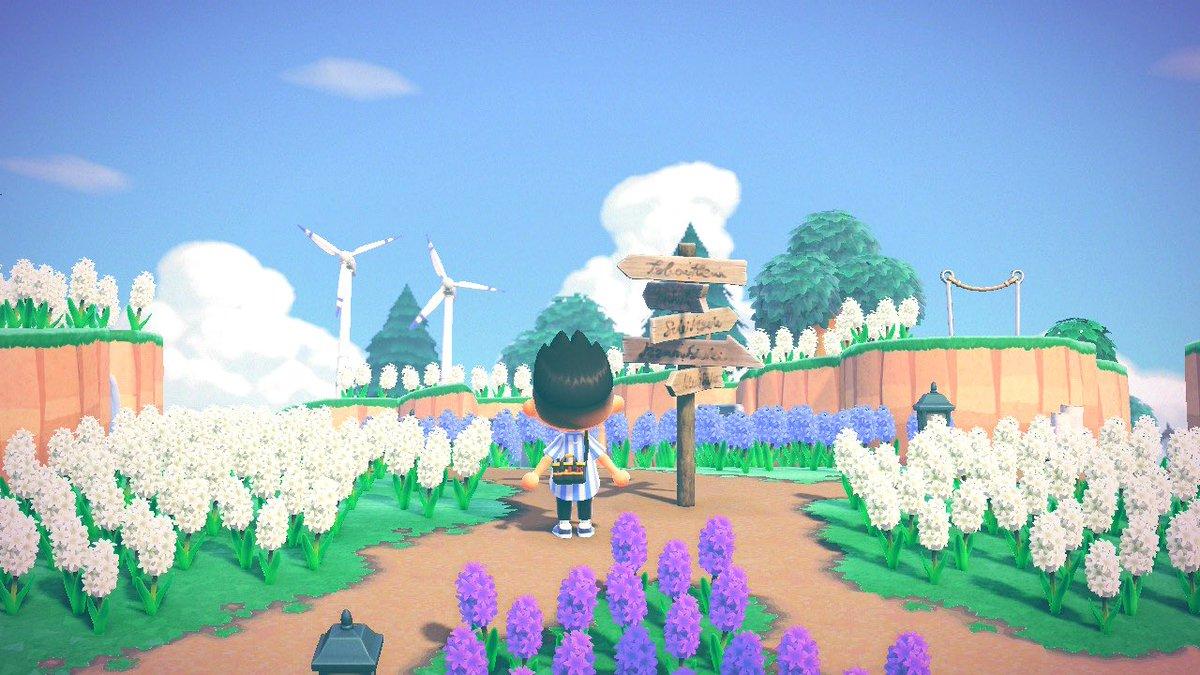 一部未完成の所もありますが、かぜの島の夢番地を公開します!🍃DA-3374-8997-5292🍃広場の下にはしごとステッキ、うちわがありますのでご活用ください🙌特にルールは無いです。写真のアップ等もご自由にどうぞ🙇♂️ #あつまれどうぶつの森  #あつ森わたしの島の夢番地  #夢番地