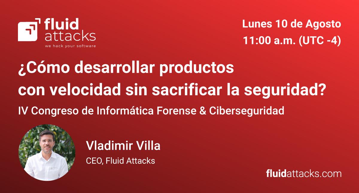 Este lunes 10 de Agosto  acompáñanos en el IV Congreso de Informática Forense & Ciberseguridad de República Dominicana en la charla ¿Cómo desarrollar productos con velocidad sin sacrificar la seguridad?   #Pentest #EthicalHacking #SecurityTesting #PruebasDeSeguridadpic.twitter.com/XnMzlGR3T2