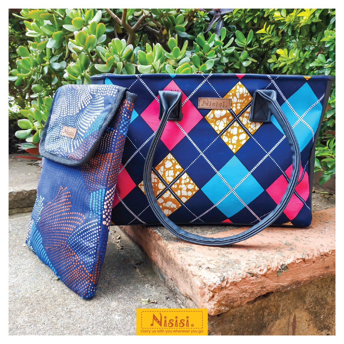 Check out our new collection of amazing & unique prints to choose from. Around here we serve you a 'buffet'; wide variety at your disposal.  Kikazi Tote: Ksh.2,500/= Laptop Sleeve: Ksh. 1,500/=  To Order: +254 721 247 143  #bags #bagstyle #thenisisifactory #madeinkenyapic.twitter.com/6mjQHPa4U8