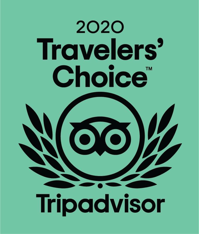 Our hotel is a 2020 Travelers' Choice Winner! Tripadvisor gives a Travelers' Choice award to accommodations, attractions and restaurants that consistently earn great reviews from travelers and are ranked within the top 10% of properties on Tripadvisor. pic.twitter.com/3eMQ5HxE5K