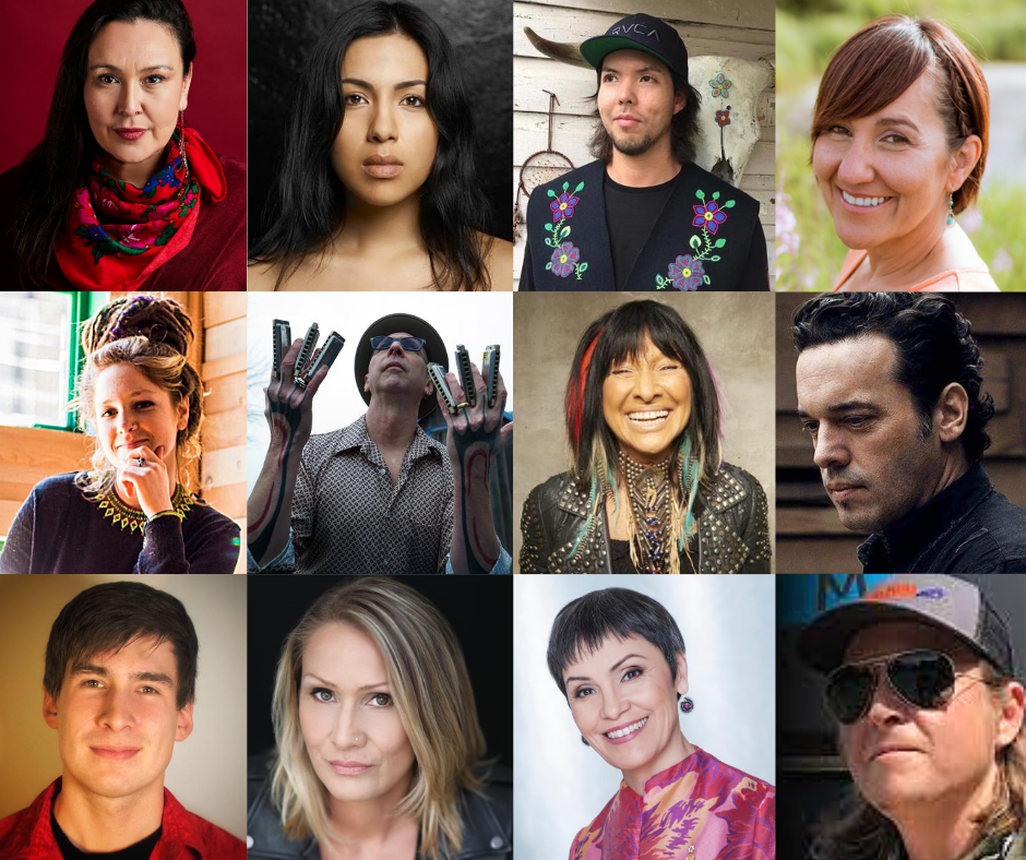 Thank you to these fantastic artists who participated in #ArtsCanConnects online workshops over the summer!  @leelagilday @R_Supernault #MatthewVukson #CindyPaul @mimiobonsawin #MikeStevens #BuffySainteMarie #JosephBoyden @NelsonTagoona @jakoostachin @SusanAglukark #RyanAinsworth https://t.co/NBzkOPXDFo