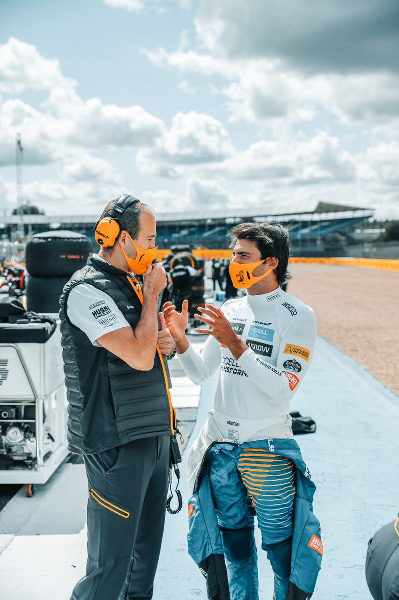 Tom & Daren conversations….  #Carlossainz https://t.co/CcszMXeTyU