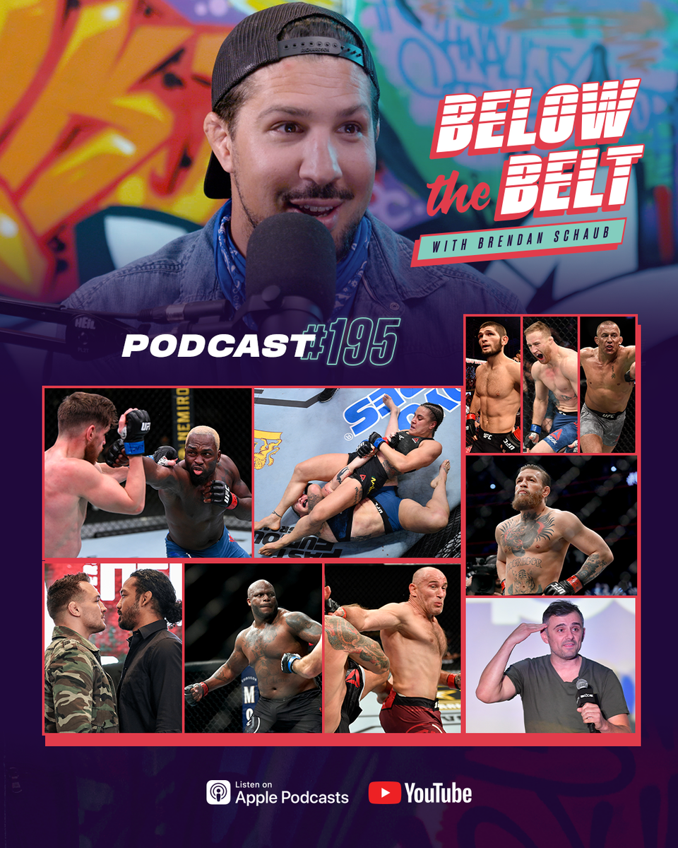 We're talkin' fights, fights & more fights! ▪️ #UFCVegas5 recap ▪️ Khabib plans to fight Gaethje & GSP ▪️ Conor McGregor accepts? ▪️ #Bellator243 & #UFCVegas6 previews ▪️ Gary V in MMA, Mike Perry to be a dad & more!  🎧 https://t.co/CH2grR6o2L https://t.co/vkX4zvOdxB