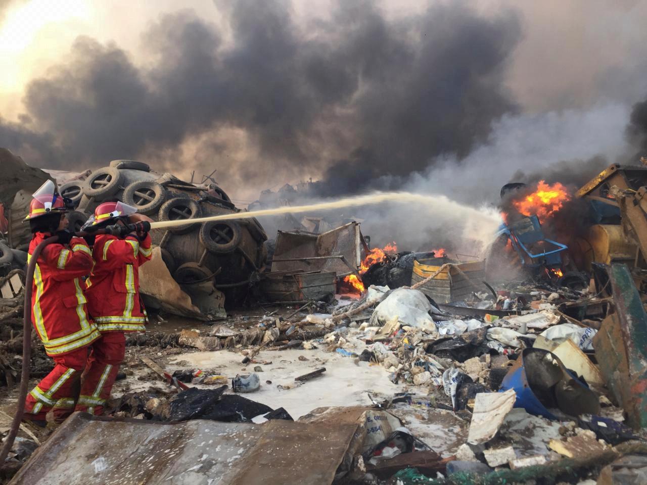 Ledakan di Beirut berasal dari sebuah gudang penyimpanan 'bahan peledak besar'