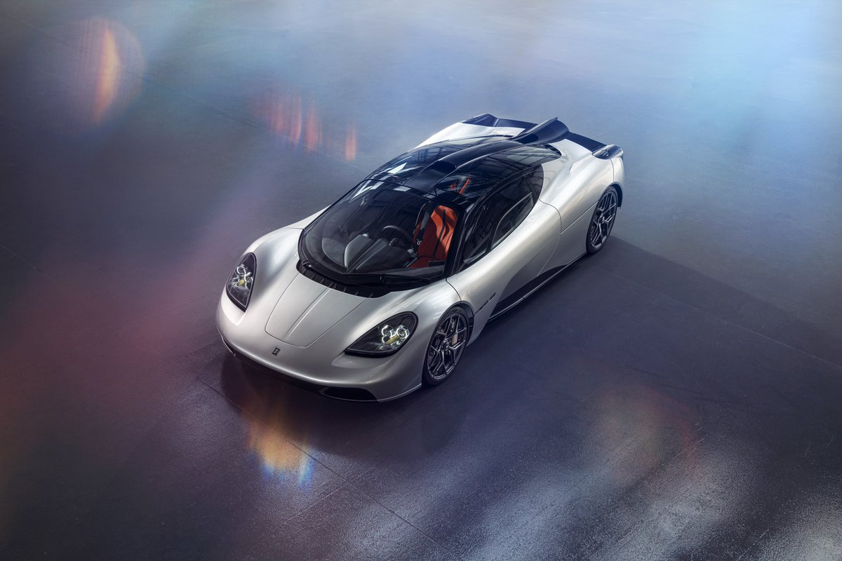 Introducing T.50 The worlds lightest supercar!  #t50 #t50supercar #gordonmurray #gordonmurrayautomotive #v12 #cosworth #xtrac #car #supercar #welcome #goat #launch #savethemanuals    Instagram: https://t.co/OGmvi4jYwF https://t.co/bnUFYN1F1S