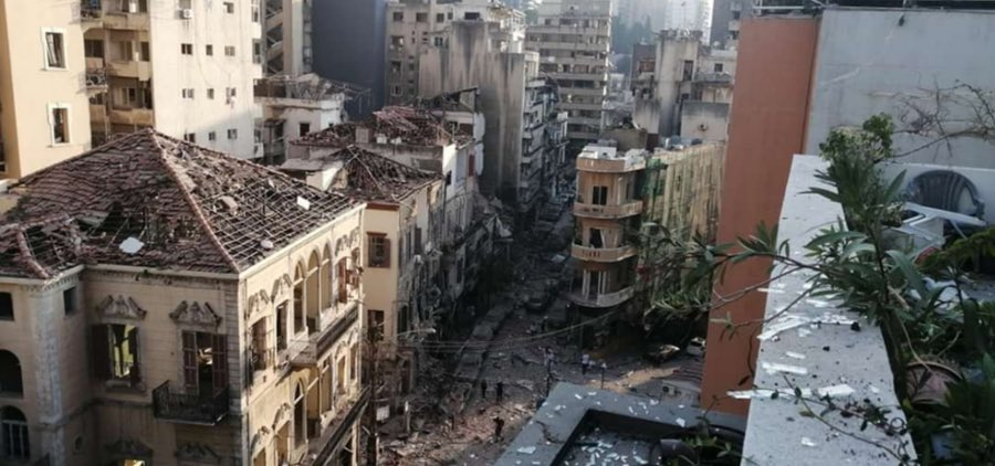 Destruction takes over Beirut after one of the biggest explosions to ever hit the city. #Lebanon https://t.co/QI5HRf2wX4
