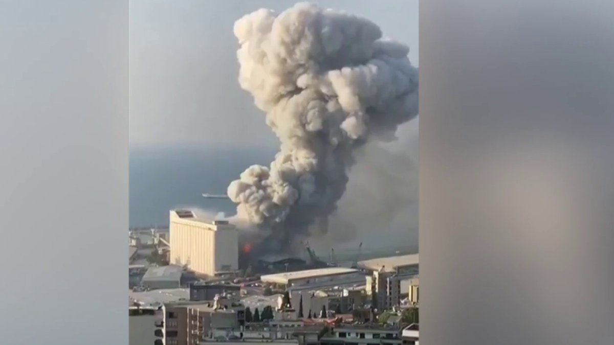 .@BillNeelyNBC reports the latest on the massive explosion in Beirut. 'The cause is unknown.'