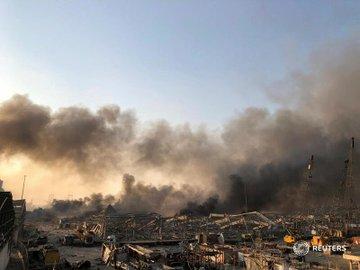 Beyrutdakı partlayışda 3 mindən çox insan yaralanıb - RƏSMİ