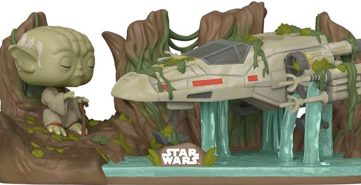 POP Deluxe: Yoda Lifting X-Wing is available now via Amazon!