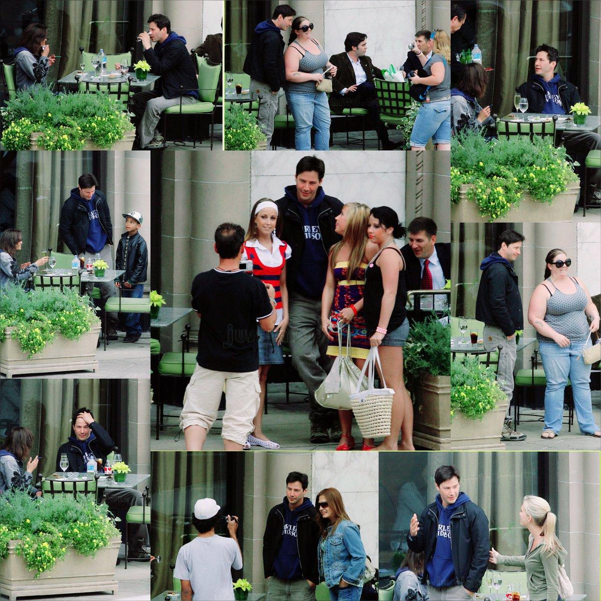 Keanu with fans  7 JUNE 2007 . . . #keanureeves #keanureevesedit #keanureevesfans #keanureevesofficial #keanureevesfan #keanu #fans #fan #movie #film #actor #thematrixmoviepic.twitter.com/nkm4dUKyfS