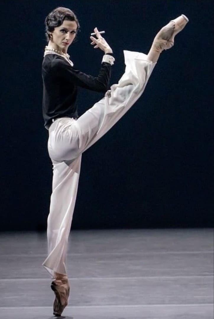 #BalletFascination #BalletDancer #SvetlanaZakharova as #GabrielleChanel https://t.co/owI6tV5NzB