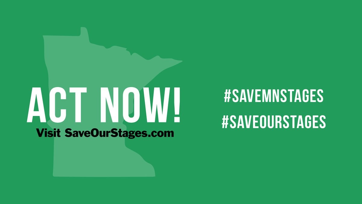 Due to overwhelming support, Congress has heard our call and introduced 3 different bills to help #SaveOurStages The voting could start this week—so please act now! Please follow up with your reps now and confirm your support with this 30-second form → bit.ly/2DCQ8Kg