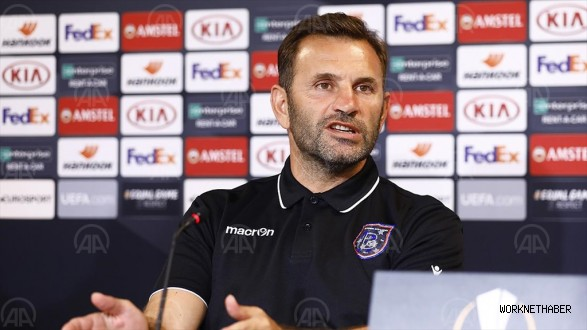 Medipol Başakşehir Teknik Direktörü Okan Buruk: İlk maçtan kazandığımız bir avantaj var https://t.co/iDqE7mfOop https://t.co/M3WaIPgukS