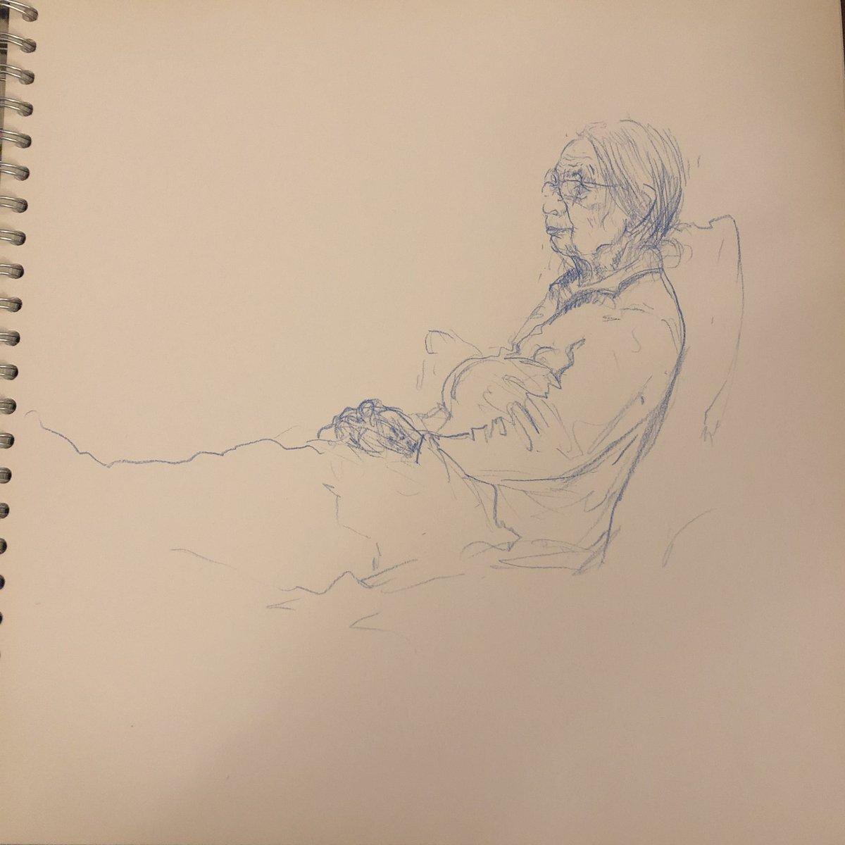 04-08-20 crisp sandwich #sketchbook #madhu #drawing #healthyeating pic.twitter.com/7awWWBLDN6