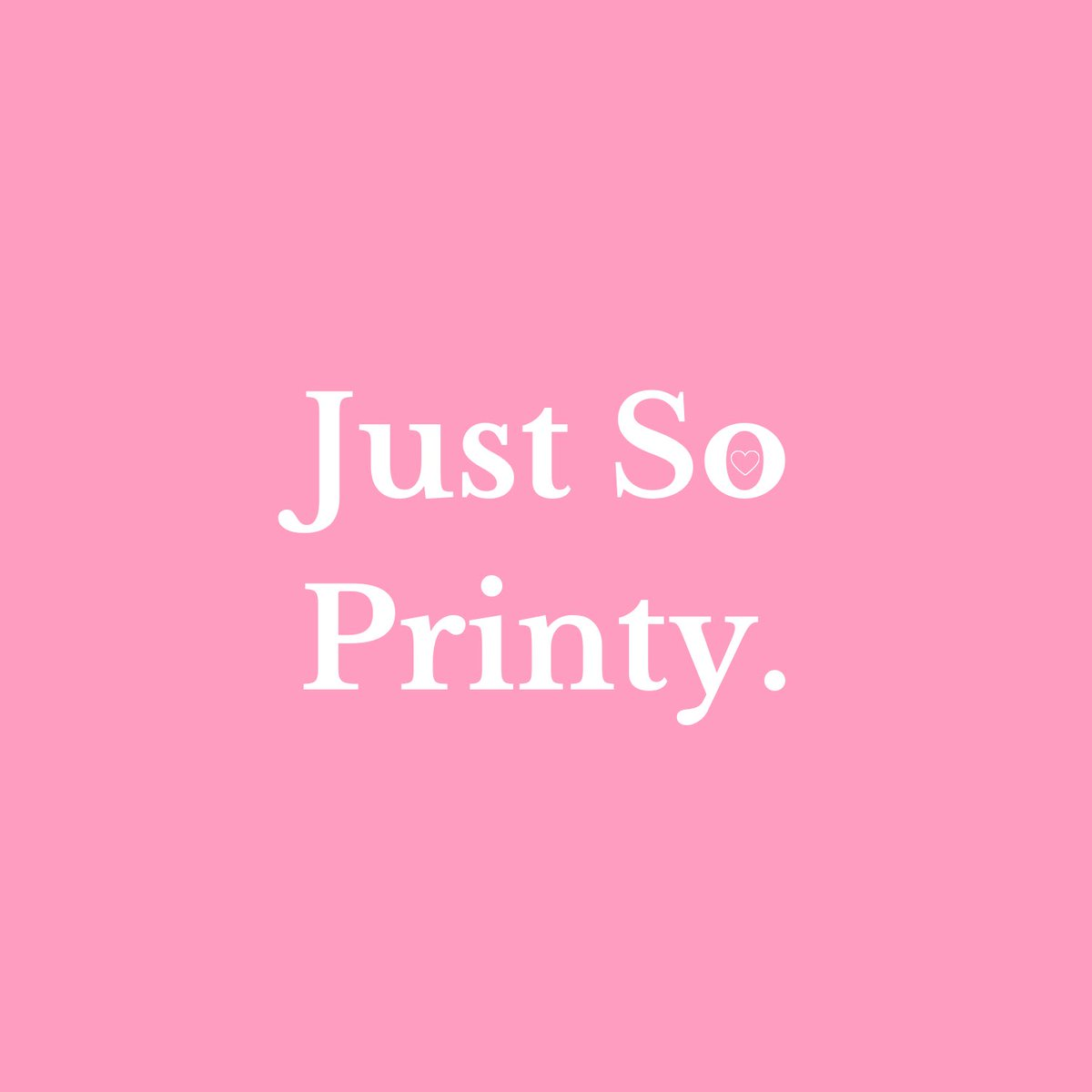 SO excited to announce my shop name #JustSoPrinty  logo and website to follow as soon as possible. In the meantime, catch me on Instagram - http://Instagram.com/justsoprinty  - #uksmallbiz #smallbusinessowners #comingsoonpic.twitter.com/WINIqDoAvf