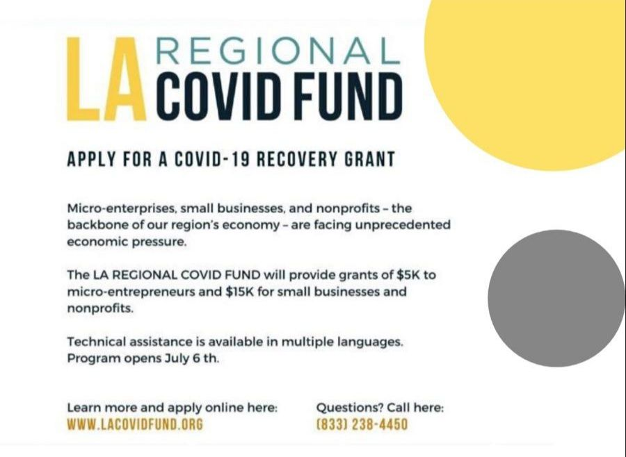 SMALL BUSINESS OWNERS: Happening NOW - Apply for a COVID-19 Recovery Grant for a chance to receive $5K for micro-entrepreneurs and $15K for small businesses & nonprofits. APPLY HERE: https://buff.ly/2ZACmz2  #smallbusinessowners pic.twitter.com/hdzPIkyxsC