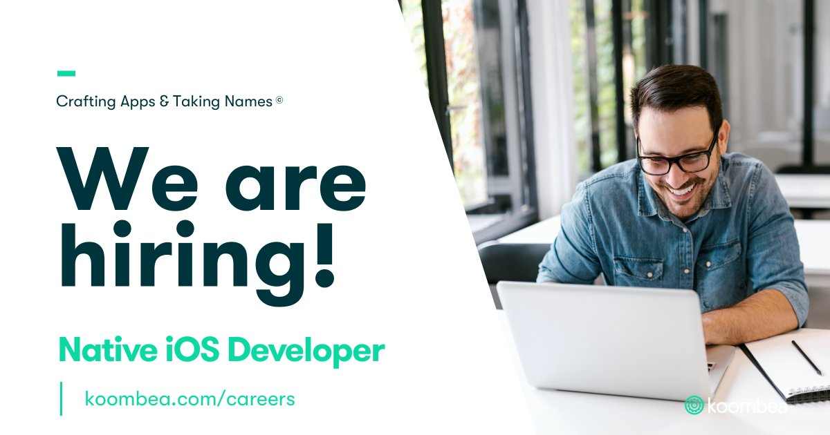 Would you like to be part of our incredible team? We are looking for a Native iOS Developer to join our mobile team! Apply here: https://bit.ly/30BXCpY     #iOSDeveloper #TrabajoSiHay #Empleo #Trabajo #EstamosContratandopic.twitter.com/b3Pugj3F9s