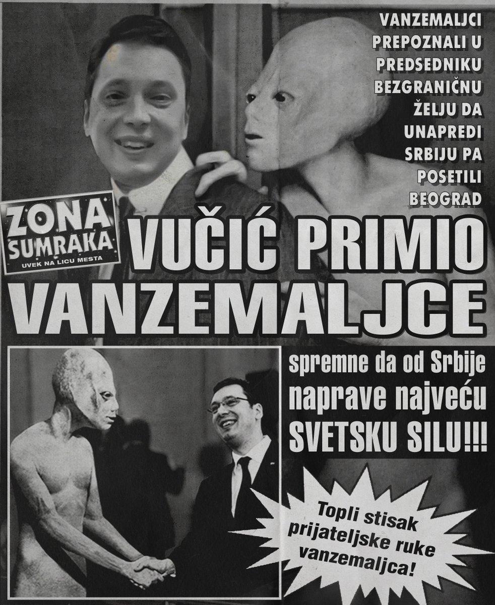 Predsednik Vučić primio vanzemaljce (FOTO)