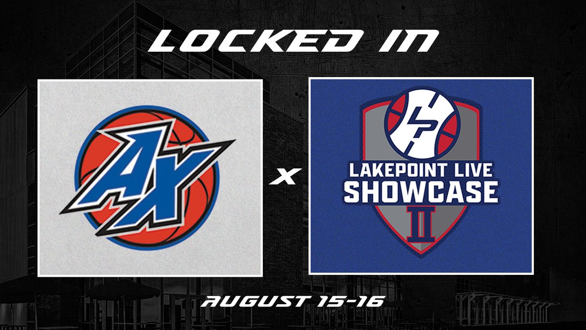 We're excited to once again have the @AtlXpress coming back to #LakePointHoops for #LPLiveShowcase 2 on August 15-16 at the @LakePointSports Champions Center! https://t.co/n4W11cvPP0