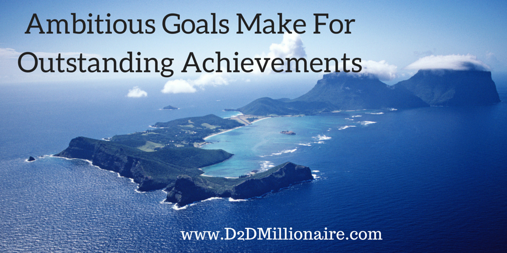 Ambitious goals make for outstanding achievements #quote #successquote pic.twitter.com/KoRDfyjkwy