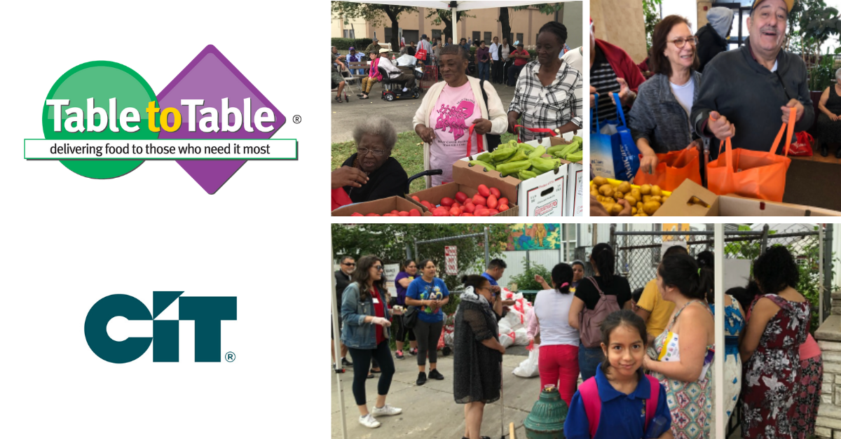 .@CIT donates 100,000 meals to NJ-based @TableToTableOrg, combating food insecurity in Northern New Jersey as part of #ActsOfCaring initiative: https://t.co/JP5GPlzanO https://t.co/i5rhbwbL9I