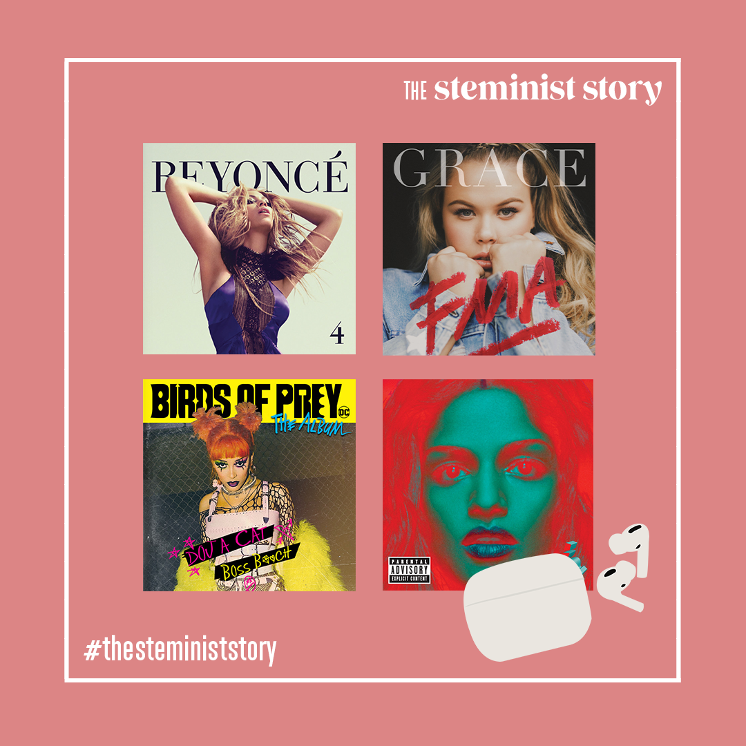 3 DAYS LEFT AND WE ARE EXCITED! Who else starts their morning with a song to get going? We created a playlist to begin your day feeling like a boss. Music by women for women. Check it out this Friday!   #womenintech #womensupportingwomen #womenwhohustle #thesteministstorypic.twitter.com/57Ui2UAEKj