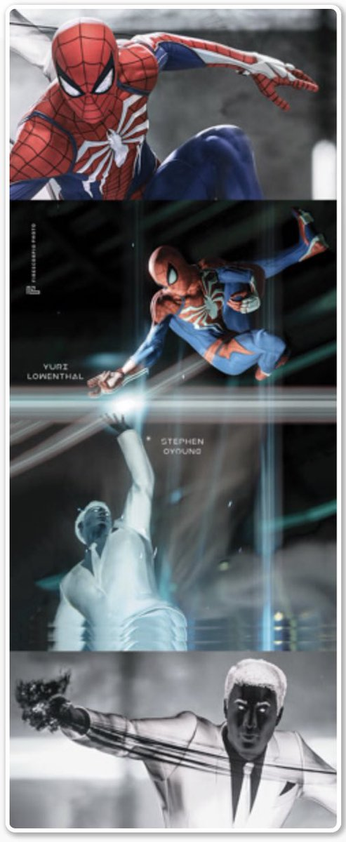 check out some of the amazing shots I'll be signing LIVE with my fellow #SpiderManPS4 cast this weekend on @StreamilyLive feat @NajJeter @wlsalyers @NancyLinari @MrStephenOyoung & more  web up your order now http://Streamily.live/yurilowenthal portion proceeds 2 charity #begreaterpic.twitter.com/TU0DKMB2ms