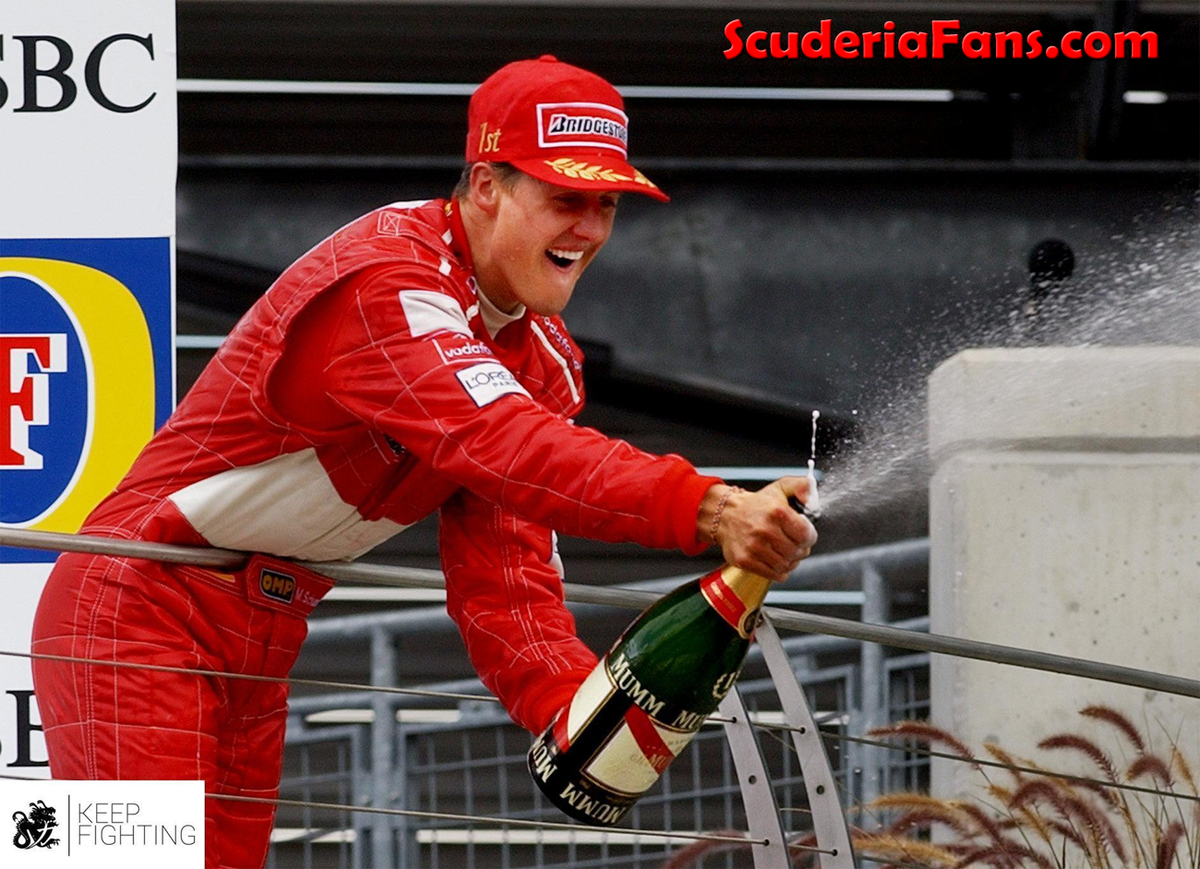 #OnThisDay in 2003, Michael Schumacher claimed a huge win after starting from seventh position 🏎 👏 Race report and video 👉 https://t.co/Ow5aeFfDE5 ⬅️ 👀  ➡️ https://t.co/uo6kBDXhq8 ⬅️  #ScuderiaFans #ForzaFerrari #essereFerrari 🔴 #F1 #KeepFightingMichael https://t.co/EhL8f9ipgZ