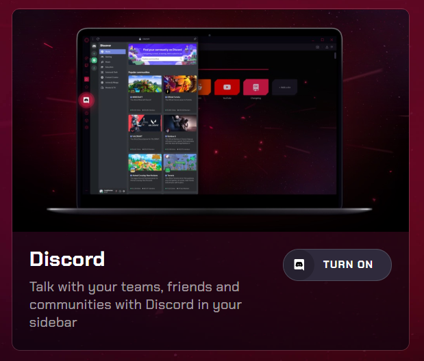 opera is such a great browser... now with #Discord!  #videogames #ps #gaming #game #gamer #playstation #games #xbox #cosplay #gamers #xboxone #art #gamergirl #instagamer #instagaming #pc #cosplayer #twitch #retrogaming #fortnite #fanart #videogamecosplay #geek #pcgaming #youtubepic.twitter.com/8BdX8fFDUy