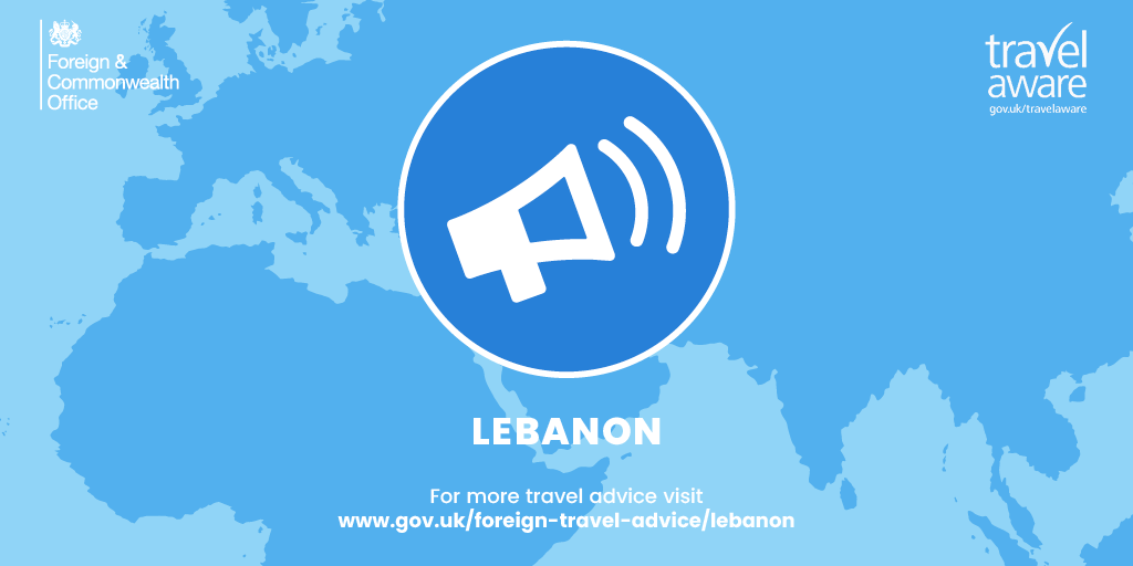 #RT @foreignoffice: RT @FCOtravel: #Lebanon The British Embassy is urgently seeking further information following large explosions in the port area of #Beirut. Avoid the immediate area of the incident, remain vigilant, follow advice of local authorities …pic.twitter.com/kUt7JoXcXR