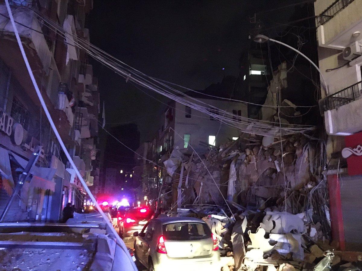 End of Gemmayze Street. #Beirut #beirutexplosion