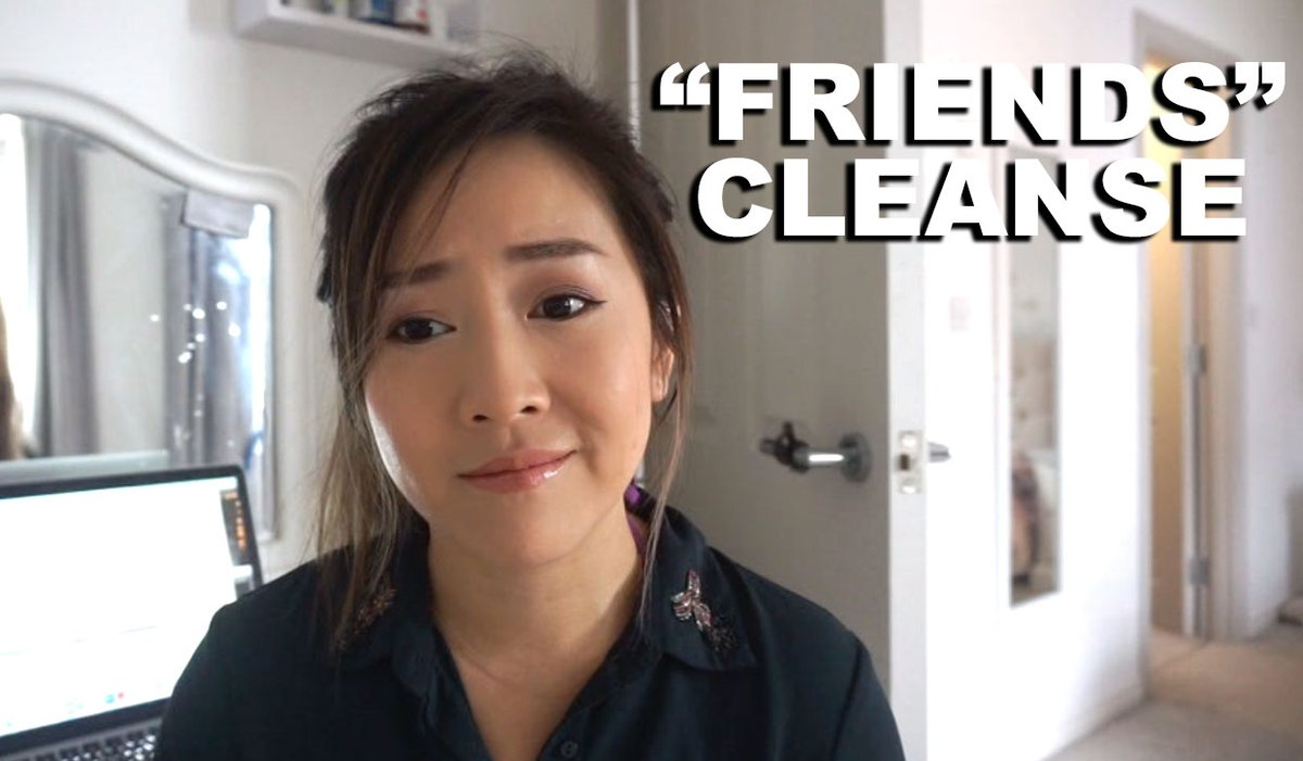 At 33, I finally did a Friends Cleanse. Quality over quantity. https://t.co/2KYoo9Ifip https://t.co/aeB5ydBkZa