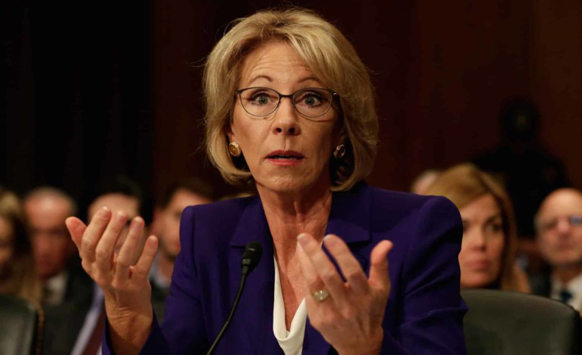 Tired of Homeschooling? Betsy DeVos Suggests Letting Your Kid Die: ow.ly/pAlg50APKok